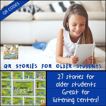 QR Codes - 27 QR stories for older students ~ 2nd grade - 5th