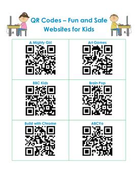 QR Codes - 30 Educational Websites