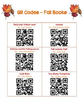 QR Codes - 30 Fall Books