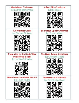 QR Codes - 30 Holiday Books: Christmas Collection