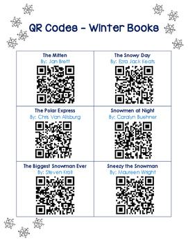 QR Codes - 30 Winter Books