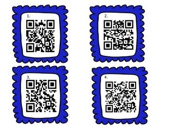 QR Codes 4.OA.4