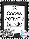 QR Codes Activity {GROWING} Bundle