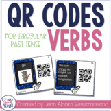 QR Codes Activity for Irregular Past Tense Verbs