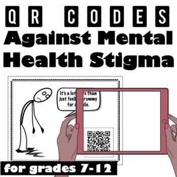 Scavenger Hunt! QR Codes Against Mental Health Stigma
