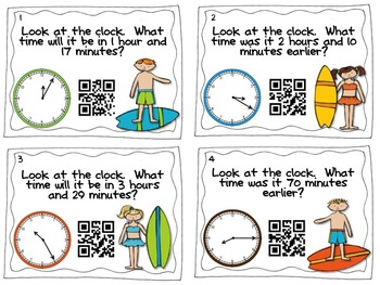 QR Codes Are Sand-Sational: 5 Common Core Aligned Task Card Sets