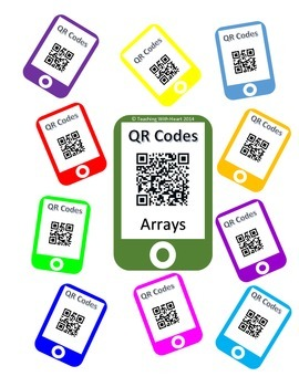 QR Codes Arrays Task Cards