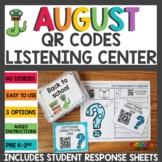 Back to School QR Codes Listening Center Bundle