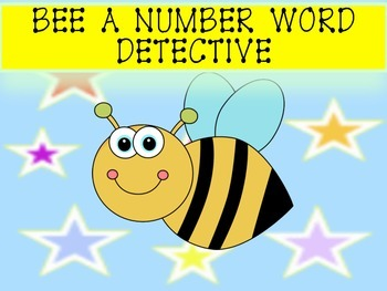 QR Codes Bee A Number Word Detective