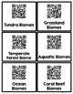 QR Codes Biomes