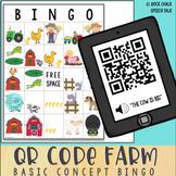 QR Code Farm Basic Concepts Bingo