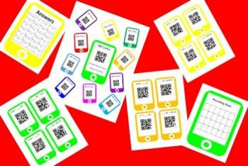 QR Codes Conversion Task Card Bundle - Metric System