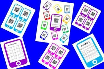 QR Codes Conversion Task Card Bundle - U.S. Customary