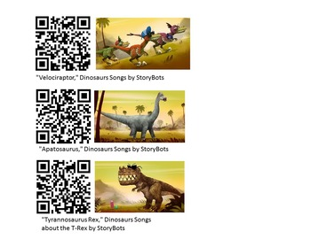 QR Codes Earth Science