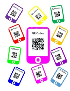 QR Codes Elapsed Time Task Cards (Minutes)