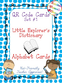 QR Code Cards--Little Explorer's Dictionary
