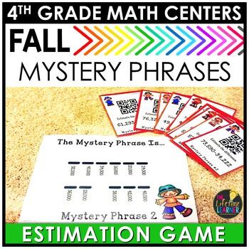 QR Codes Estimation September Math Center