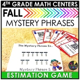 Fall QR Codes Estimation Game