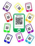 QR Codes Fact and Opinion Task Cards (Lower Elementary)