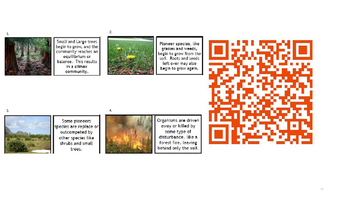 QR Codes Food Webs, Ecosystem, Cells, Body Systems, Relationships and More