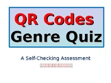 QR Codes Genre Quiz - Self-Checking