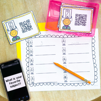 QR Codes: Getting to Know You Activity {Freebie}