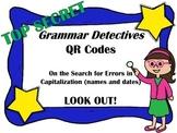 QR Codes  Grammar Detectives Capitalization