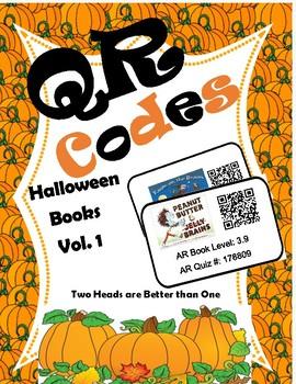 QR Codes: Halloween Books Vol 1