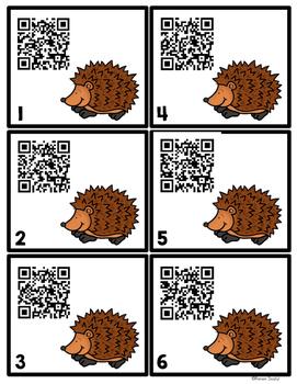QR Codes - Hedgehogs