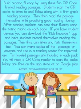 QR Codes I Can Read With Fluency