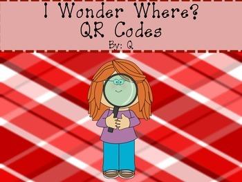 QR Codes I Wonder Where?