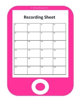 QR Codes Idioms Task Cards 2