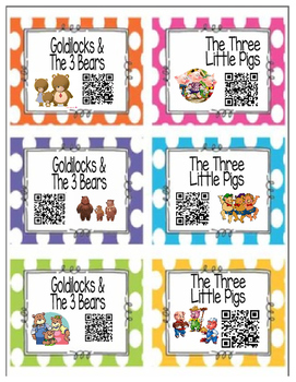 Once Upon A Time ~ Fairytales & Folktales QR Codes