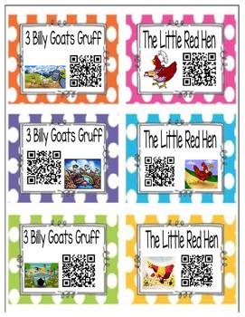 QR Codes In TK ~ Folktales & Fairytales #3