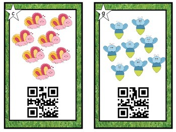 QR Codes ~ Insect ~ Bug Counting with QR Codes