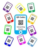 QR Codes Interpreting Graphs Task Cards
