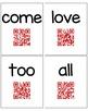 QR Codes: Kindergarten Sight Word Videos