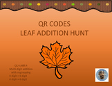 QR Codes Leaf Addition Hunt