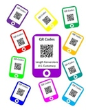QR Codes Length Conversion Scavenger Hunt - U.S. Customary