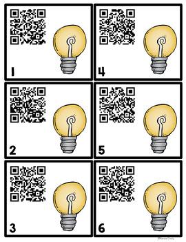 QR Codes Light Energy
