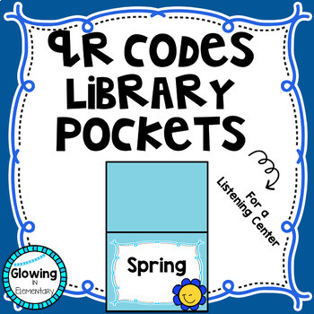 QR Codes Listen to Reading Library Editable