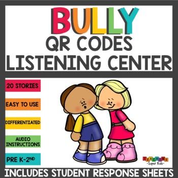 QR Codes Listening Center Bully Stories