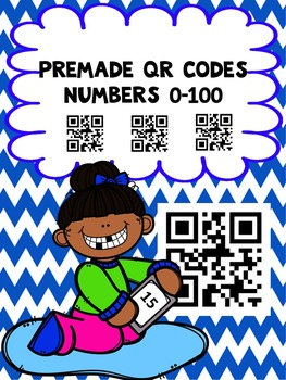 QR Codes Made For You Numbers 0-100