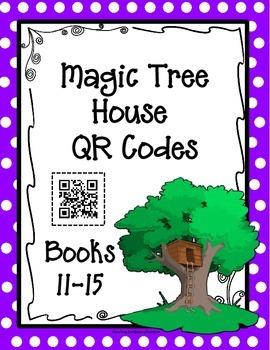 QR Codes: Magic Tree House, Books 11-15