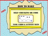 FREE QR Codes - Make Your Own Activity Mats or Task Cards