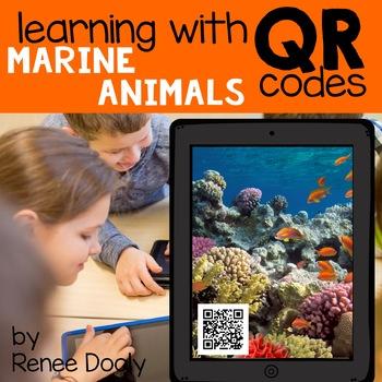 QR Codes Marine Animals