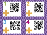QR Codes - Math 2 digit addition