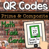 QR Codes: Math Prime & Composite Task Cards