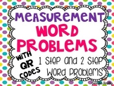 QR Codes Math Task Cards: Measurement Conversion Word Problems