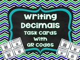 QR Codes Math Task Cards: Writing Decimals